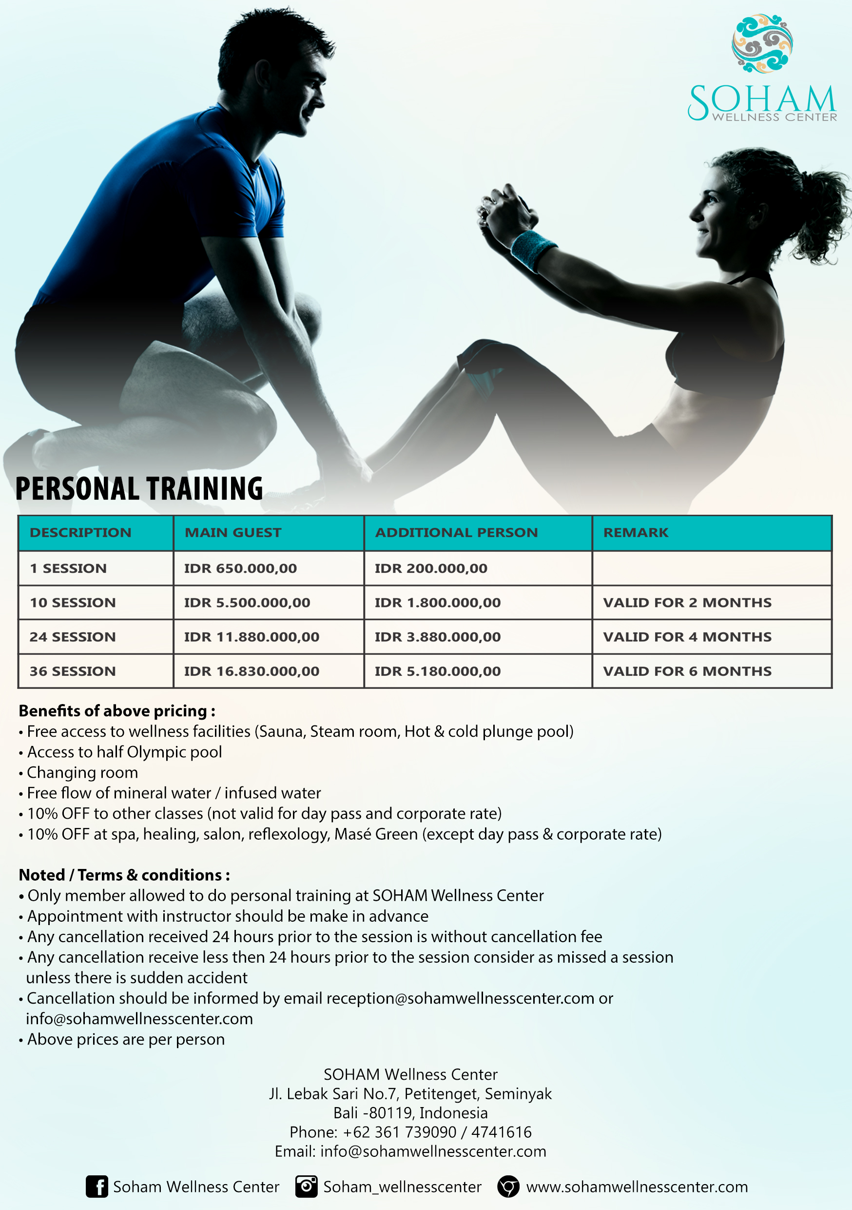 personal trainer A5