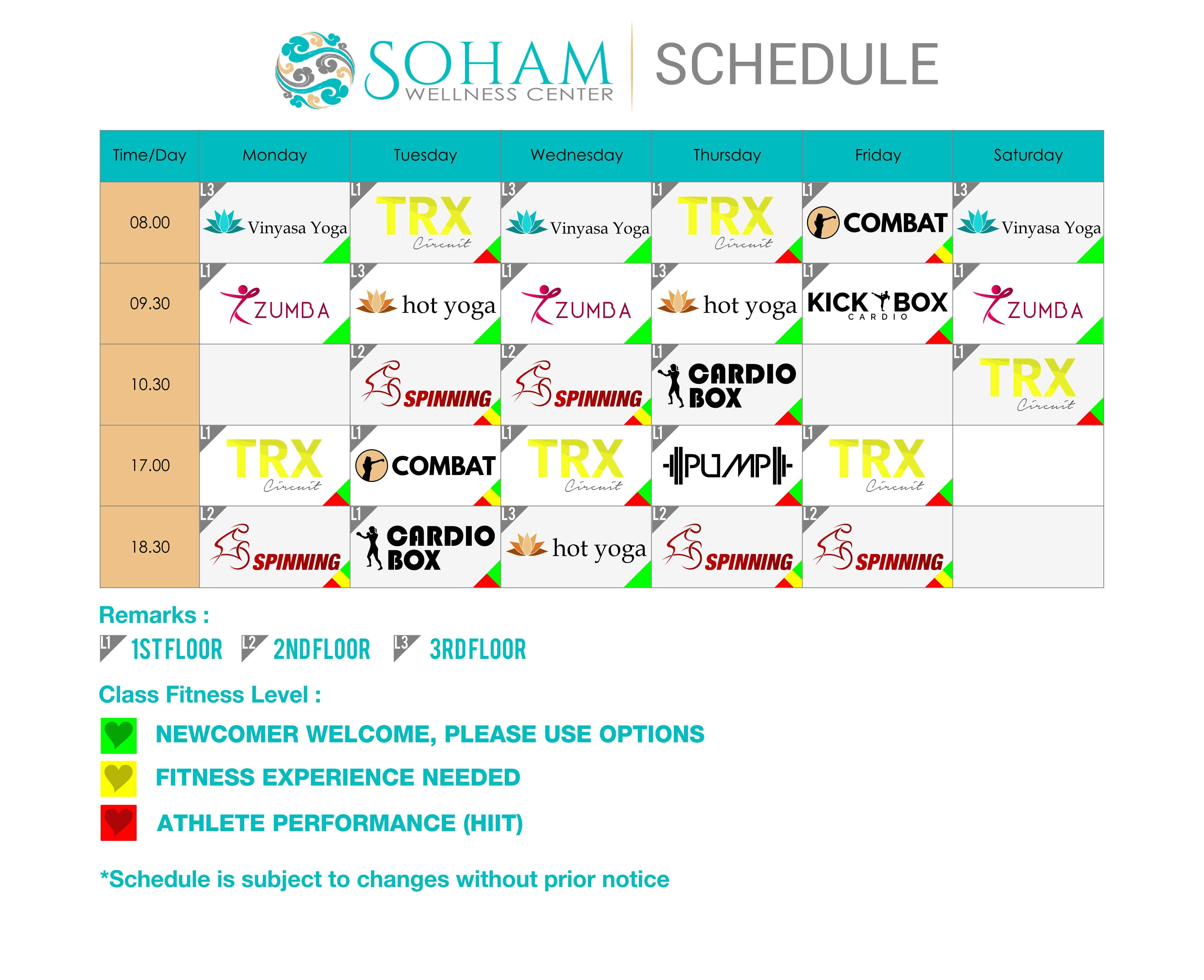 Schedule Soham may 2017