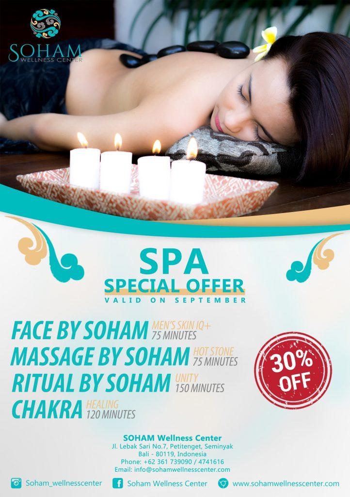 spa special offer semtember